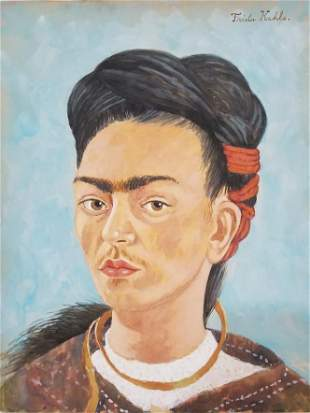 Frida Kahlo was a Mexican painter known for her many