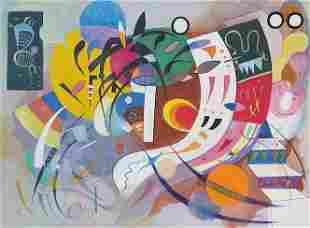 Wasily Kandinsky was born on December 16, 1866, in