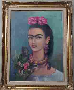 Consignment .Frida Kahlo was a Mexican painter known