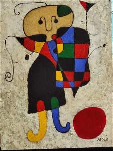 Consignment Joan Miro .(1893-1983)- Spanish Painter,