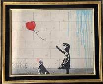 Banksy is an anonymous England-based street artist,