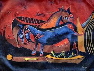 Consignment,Rufino Tamayo(1899-1991) Was a Mexican