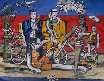 Fernand Leger (French: ; February 4, 1881 _ August 17,