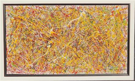 Jackson Pollock.  an American , painter and a major