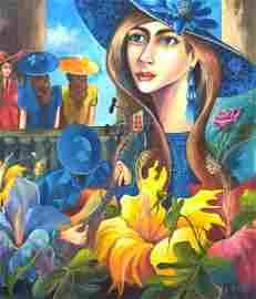 Armando Mejias , HABANERA .Contemporary Cuban Artist ,