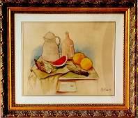 Fernando Botero Angulo is a Colombian figurative artist