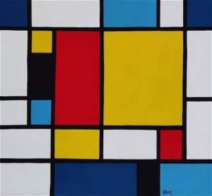 Piet Mondrian was born Pieter Cornelis Mondriaan, Jr.,
