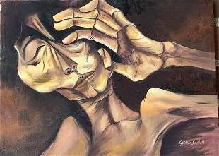 OSWALDO GUAYASZAMIN, was an Ecuadorian artist whose