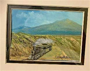 JOSE MARIA VELASCO   HAND PAINTED POST CARD   SIZE OF