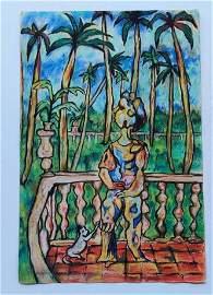 Rene Portocarrero Cuban Artist