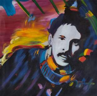 Peter Max is a German-American artist known for using