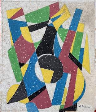 Gino Severini was an Italian painter and a leading
