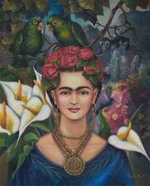 Consignment,Frida Kahlo,In the Manner of. was a Mexican