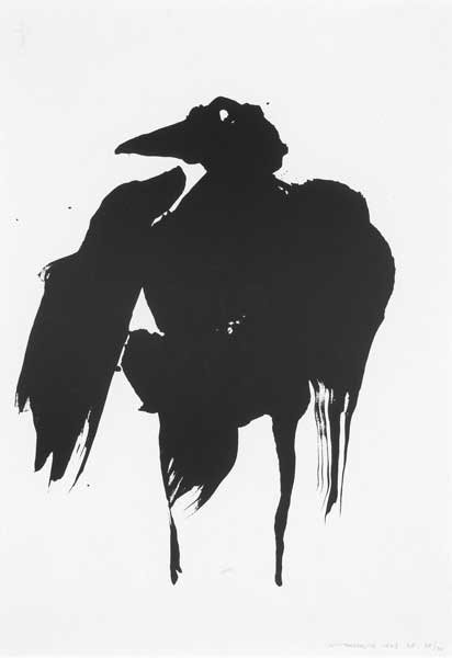 3: THE MORRIGAN, 1969, lithograph on Swiftbrook paper