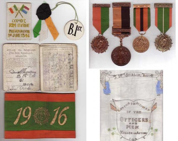 098A: 1916-1921 A RARE GROUP OF MEDALS, BADGES AND RELA