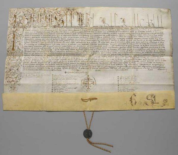 5: Pope Paul IV ( 1476-1559) - A Very Rare Manuscript