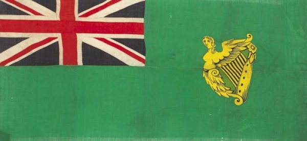 101: 19th Century Flag: Green Ensign.