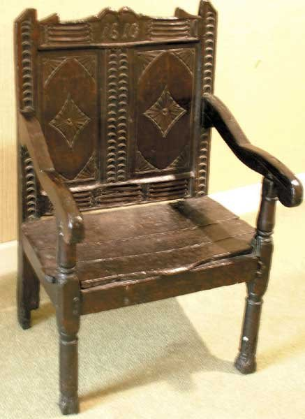 "11: 1610. A ""Planter's Chair"""