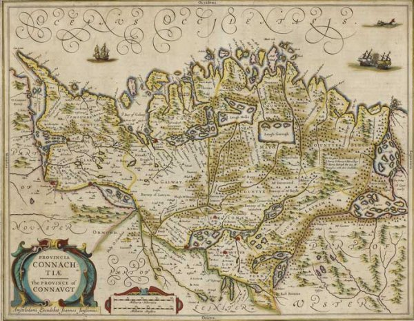 14: Circa 1650 Johannes Jansonius map