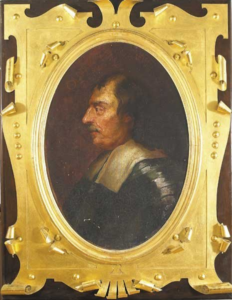 15: PROFILE PORTRAIT OF OLIVER CROMWELL (1599-1658)