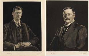 255: Portraits of Michael Collins and Arthur Griffiths