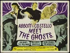 Abbott and Costello Meet The Ghosts