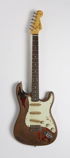 Rory Gallagher Fender Stratocaster replica guitar with