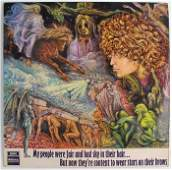 Tyrannosaurus Rex first LP 1968 and Davy Jones and The