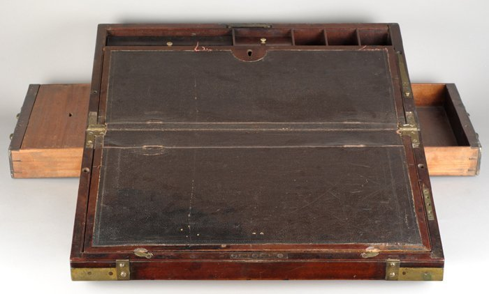Irish surgeon's campaign writing box