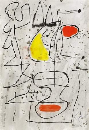 Joan Miró (Spanish, 1893-1983)