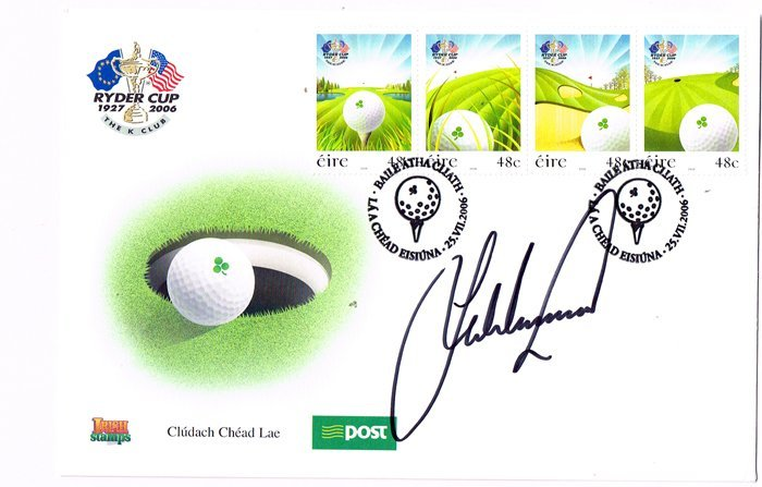 Sporting Autographs: 2006 Ryder Cup, 2004 Irish masters