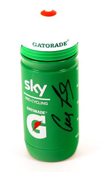 Cycling, Olympic Gold Medalists Gatorade bottle, signed