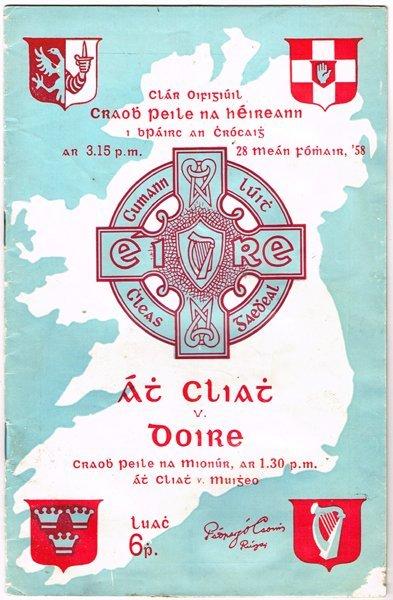 1958 GAA, Derry v. Dublin, Senior Football