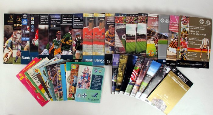 GAA 1975-2014 Collection of All-Ireland final