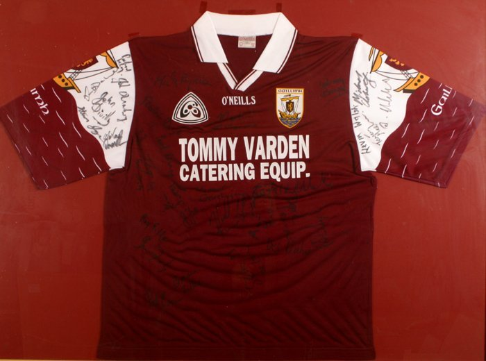 Gaelic Football, Galway, 1998, signed jersey.