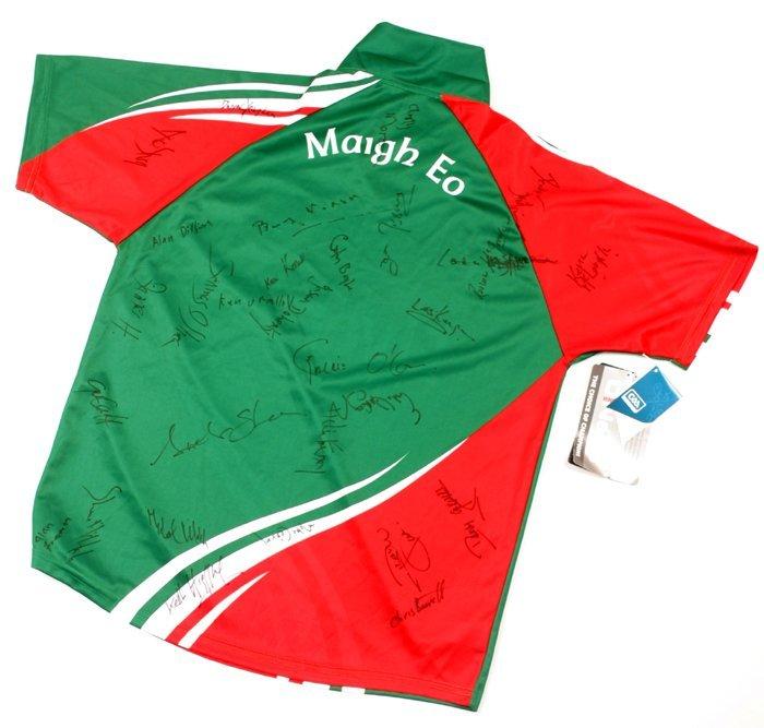 Gaelic Football, Mayo, 2013, signed jersey