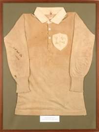 Rugby Union. 1899 Ireland international team - Triple