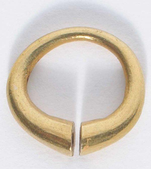 "1: c.1300-1100 BC  Bronze Age Celtic ""ring money"" - an"