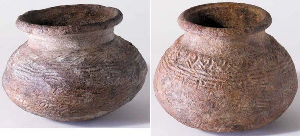 3: Pair of medieval pots, Co. Tyrone.