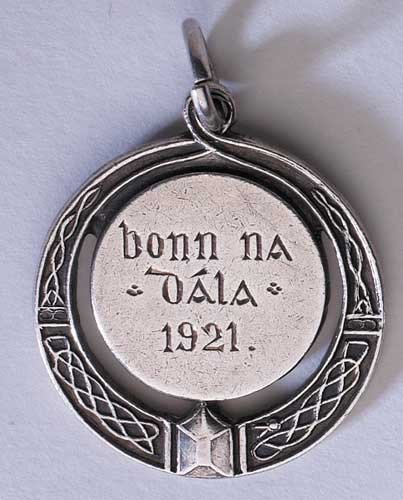 176: 1921 Bonn na Dala silver medal struck for service