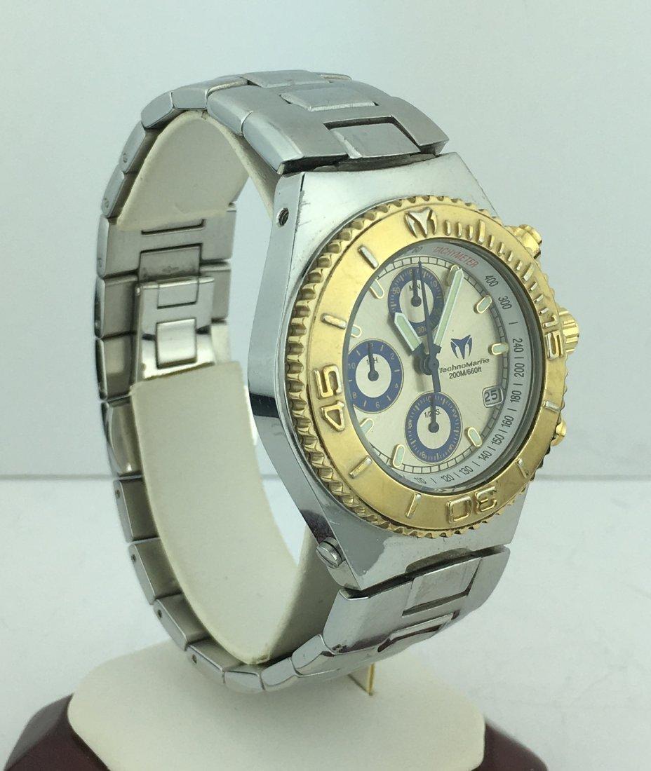 TechnoMarine Cruise Chronograph Watch w/ Stainless Band - 3