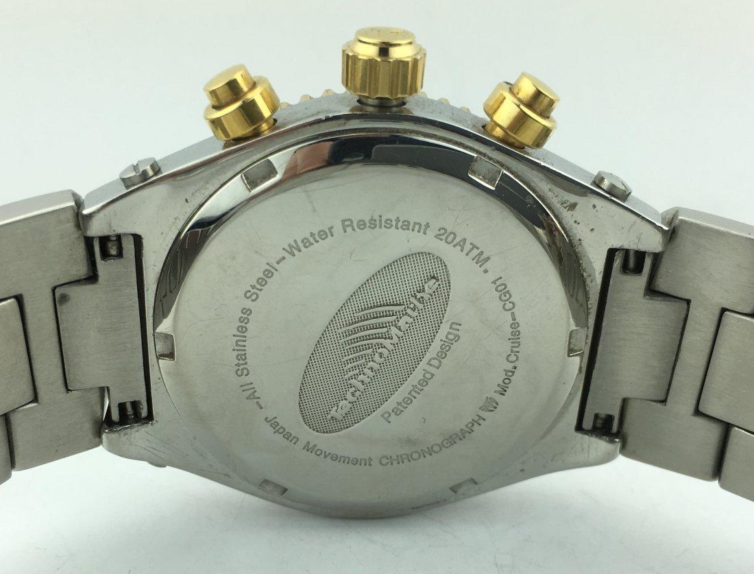 TechnoMarine Cruise Chronograph Watch w/ Stainless Band - 6