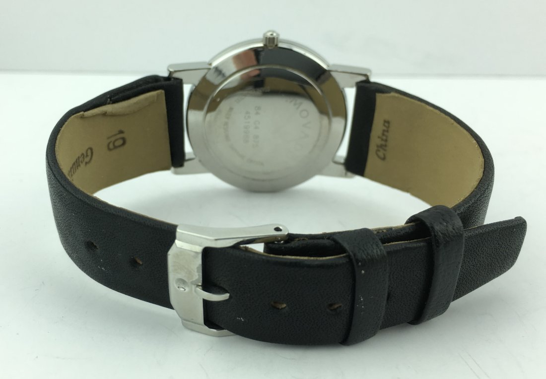 Movado Museum Watch Sapphire Crystal Square Lugs - 5