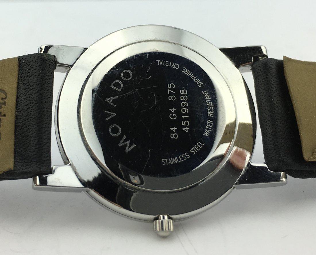 Movado Museum Watch Sapphire Crystal Square Lugs - 6