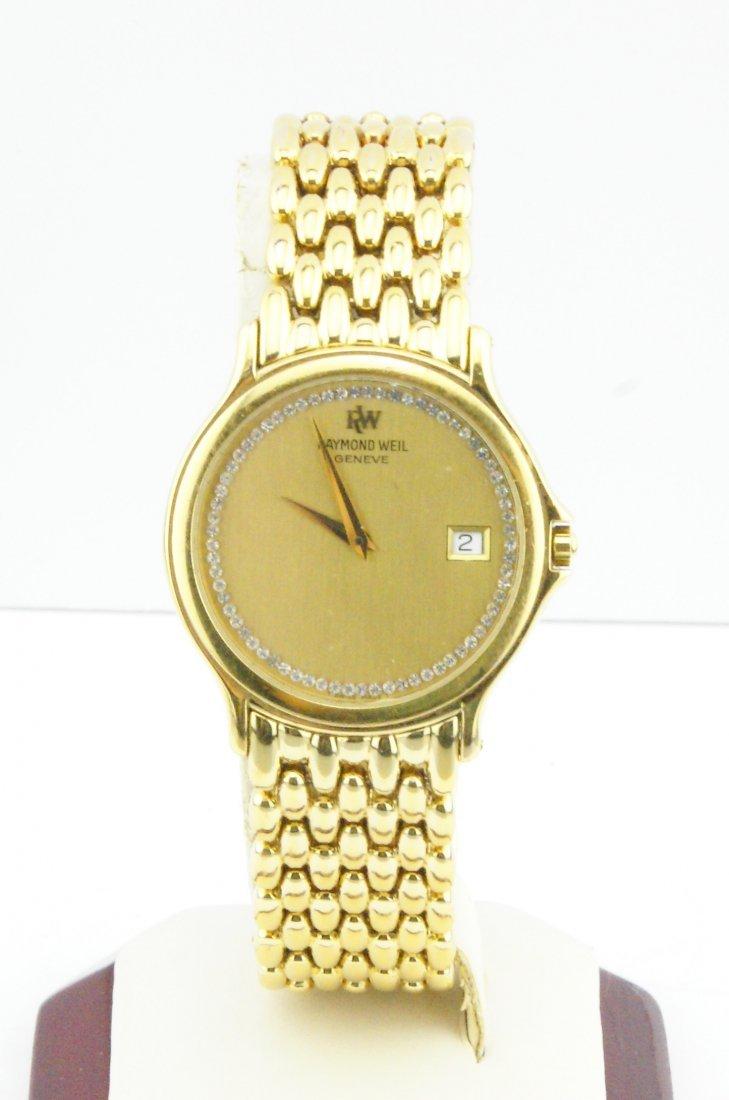 Raymond Weil Chorus Men's Gold Plated Watch 5568