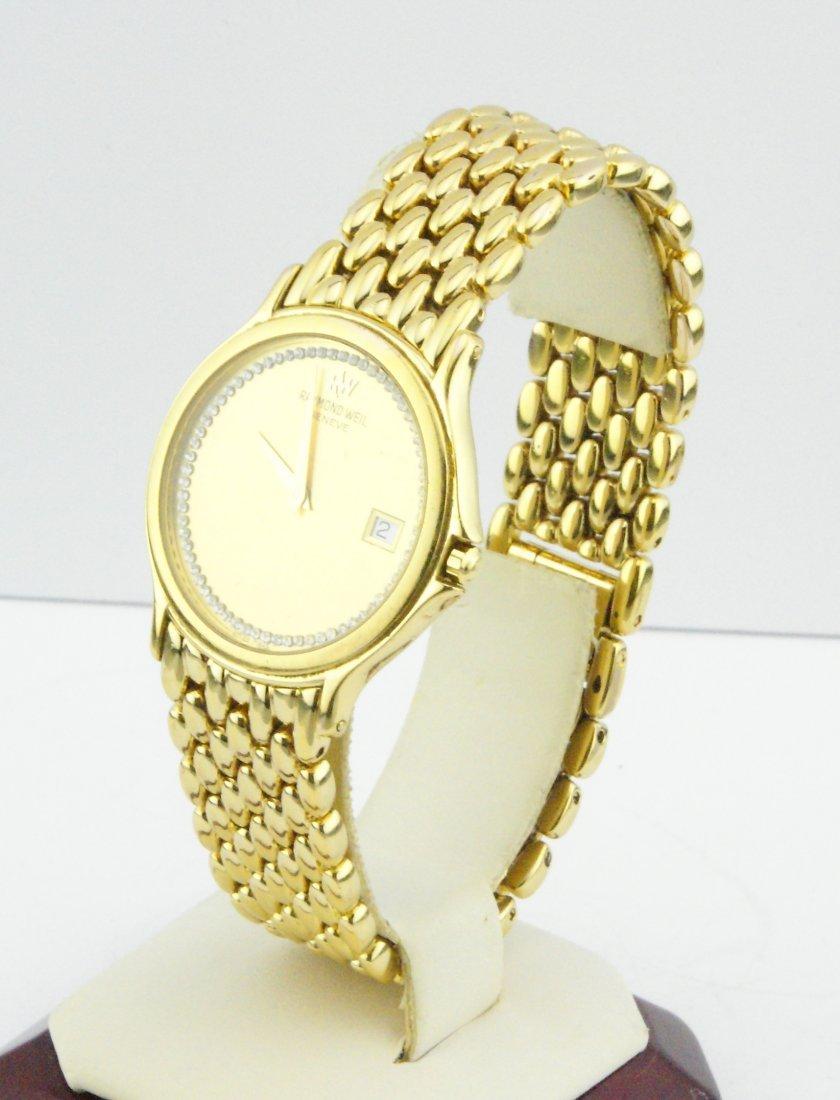 Raymond Weil Chorus Men's Gold Plated Watch 5568 - 2