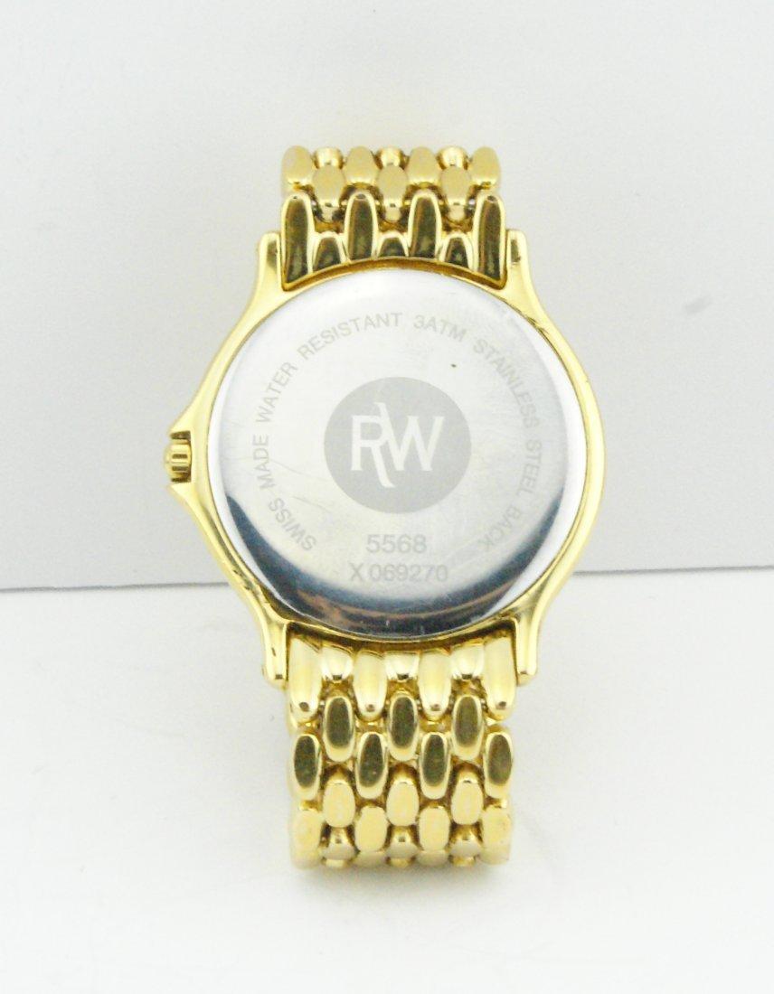Raymond Weil Chorus Men's Gold Plated Watch 5568 - 3