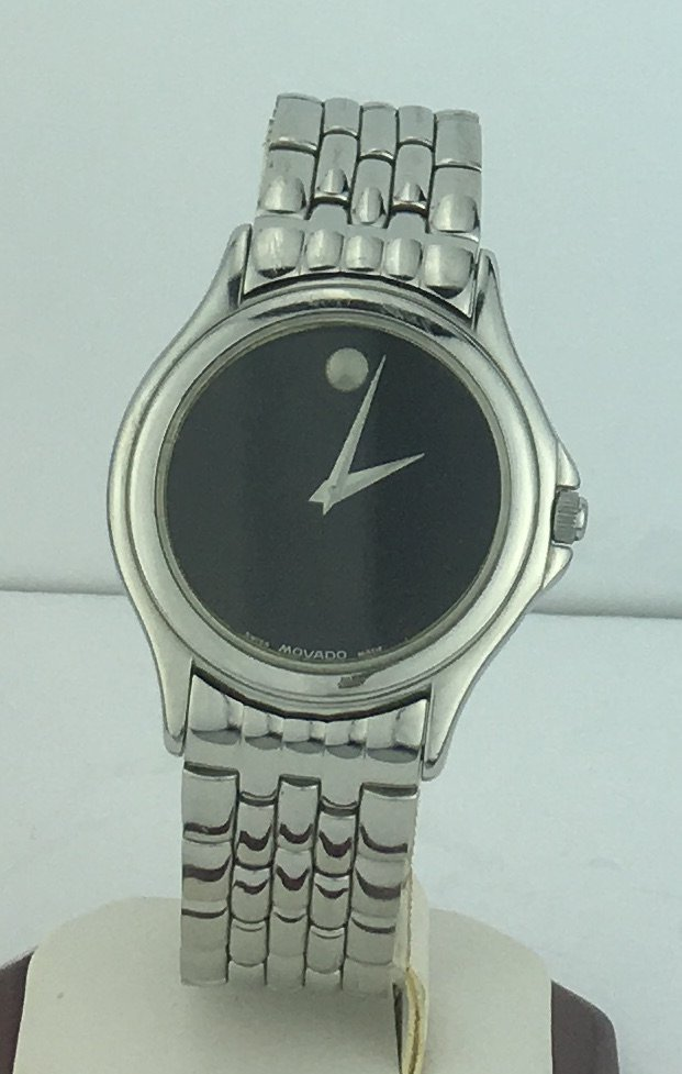Movado Museum Men's Watch Stainless Steel Band 84E40863