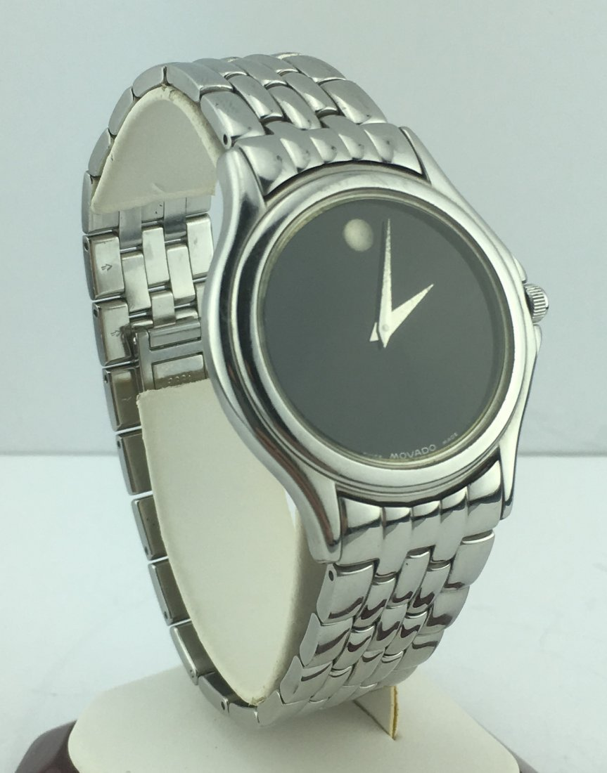 Movado Museum Men's Watch Stainless Steel Band 84E40863 - 2
