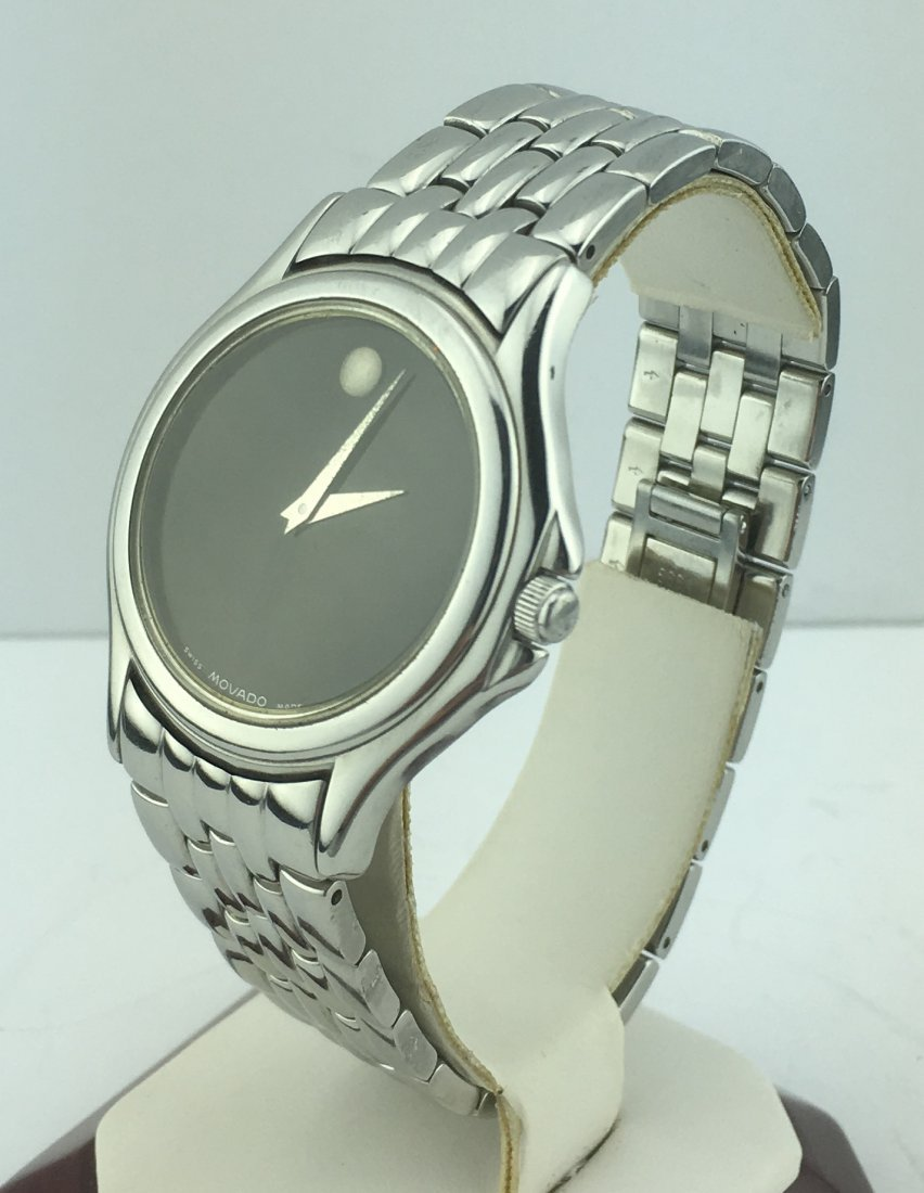 Movado Museum Men's Watch Stainless Steel Band 84E40863 - 3